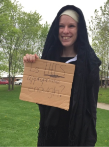 The awesome girl who protested her principal in Guelph