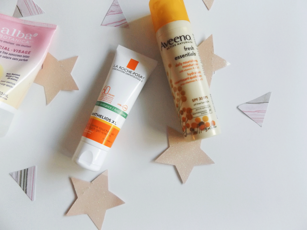 La Roche Posay and Aveeno