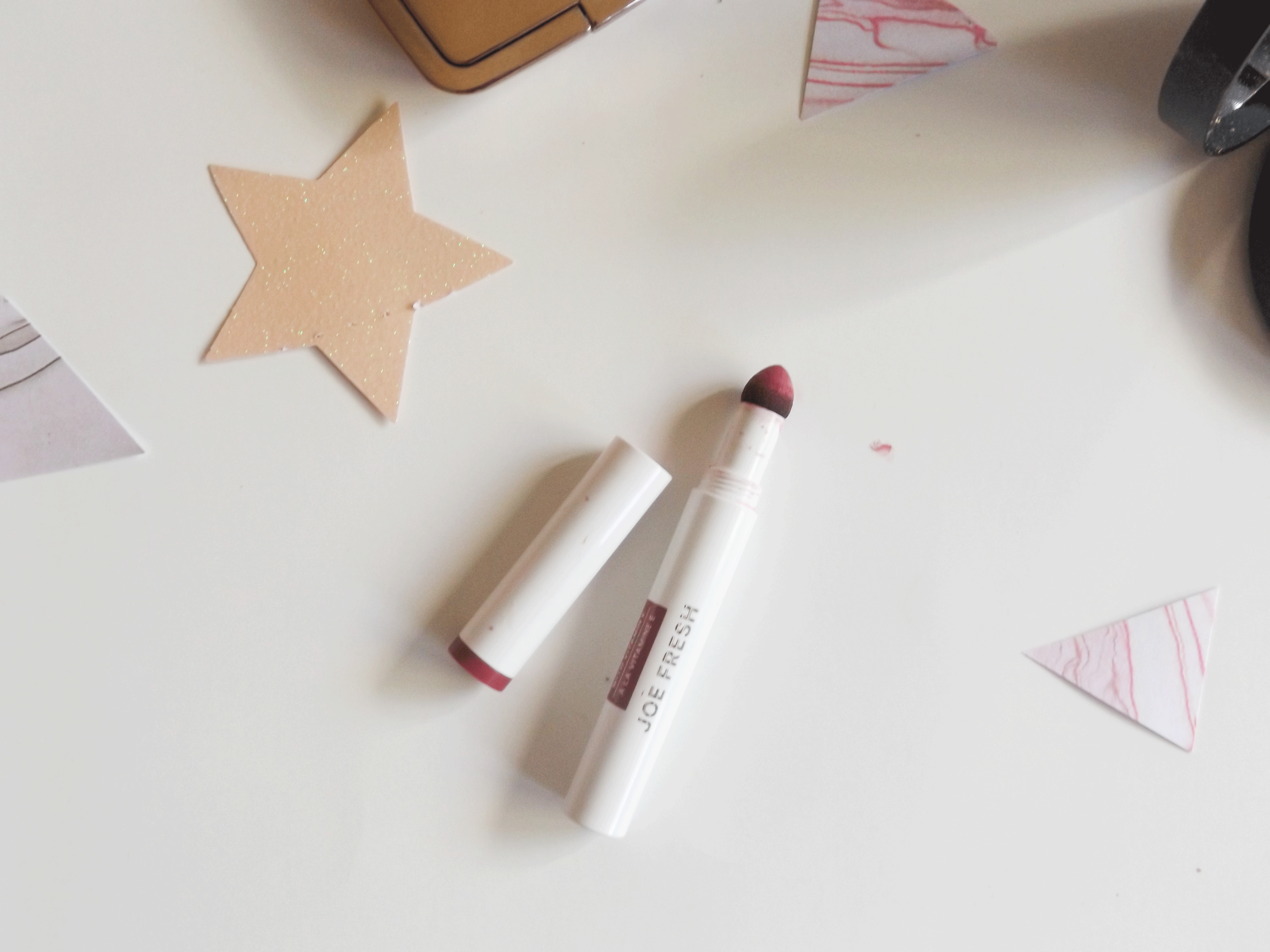 Joe Fresh lipstick cushion