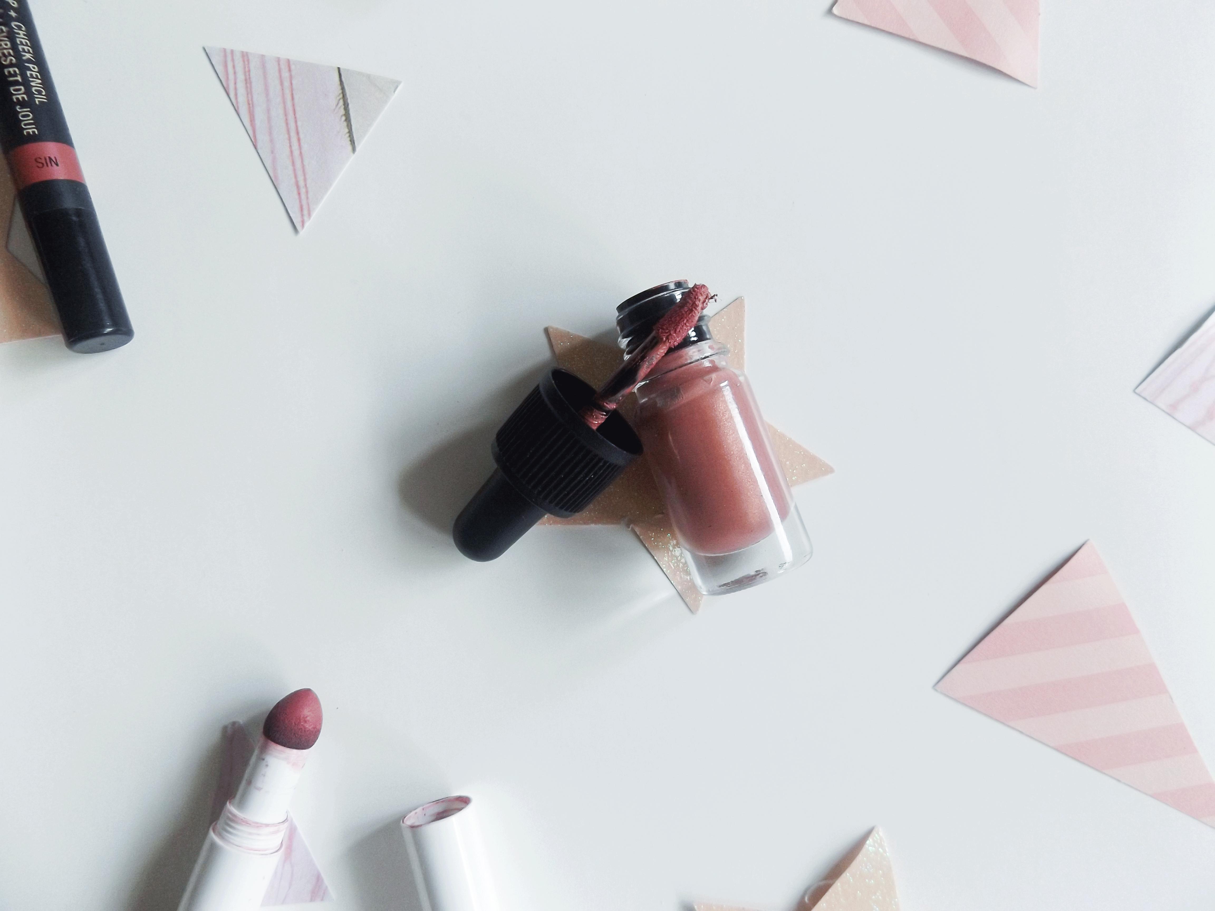 Lush Lipstick in perspecitve