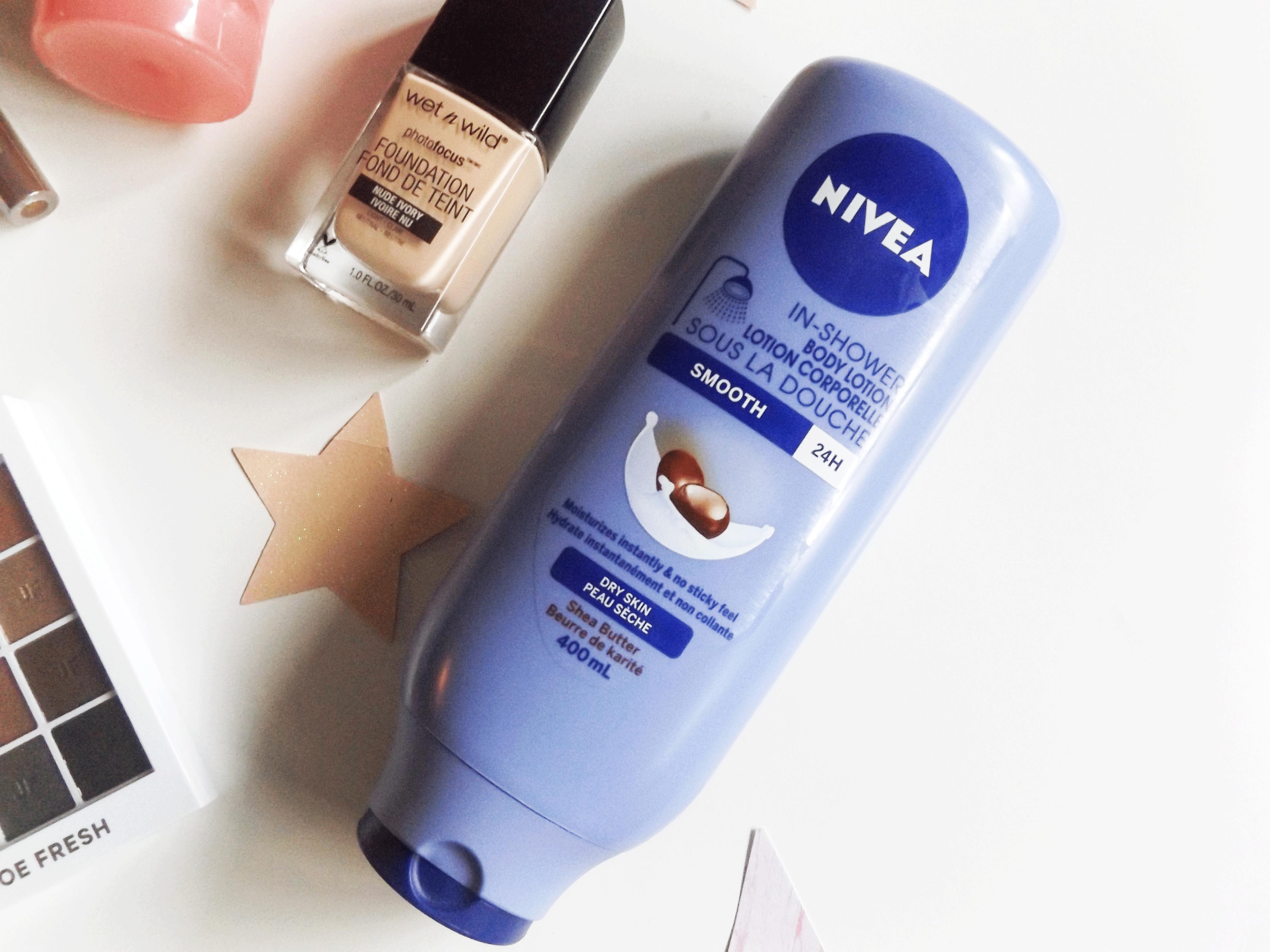 Nivea in shower body lotion