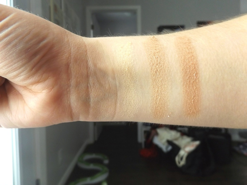 Covergirl highlighter swatches