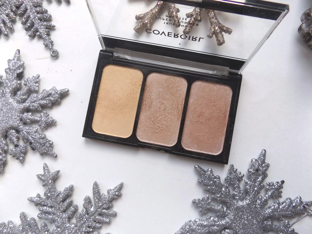 Covergirl It's lit palette open showing the powders