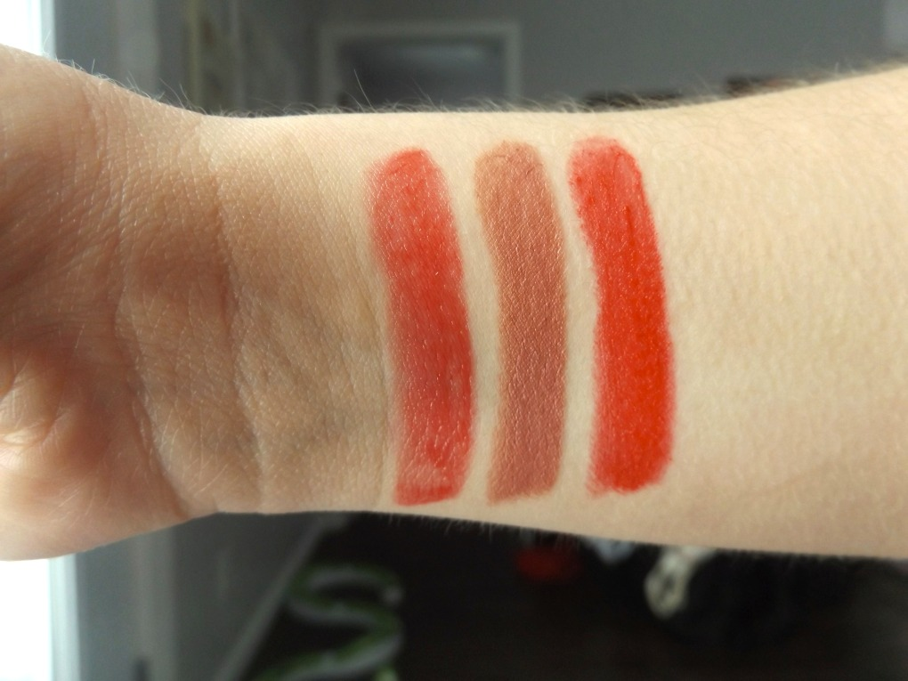 Swatches of punch, sultry sienna, and succulent cherry