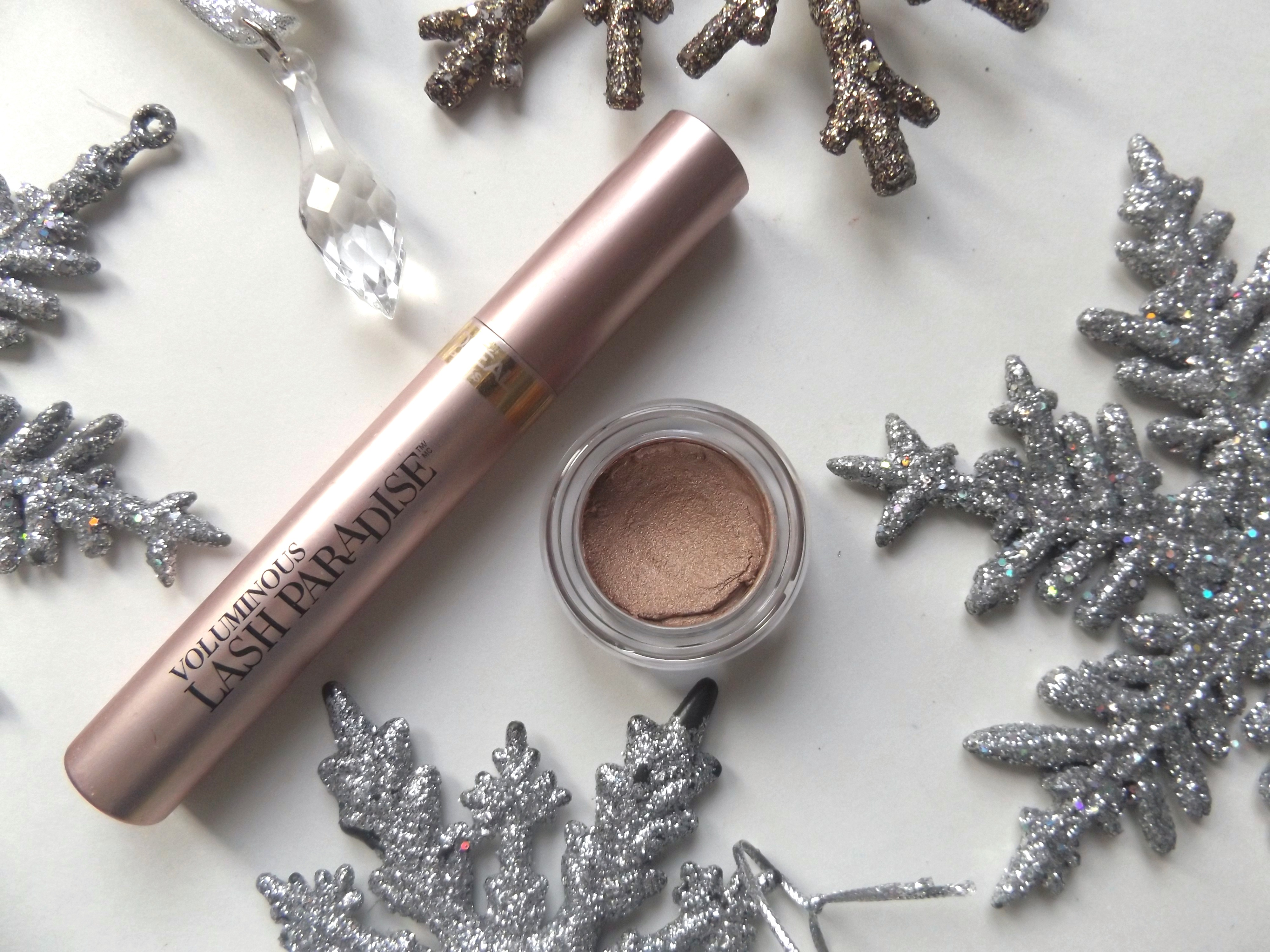 L'Oreal Lash Paradise and Annabelle Jelly eyeshadow