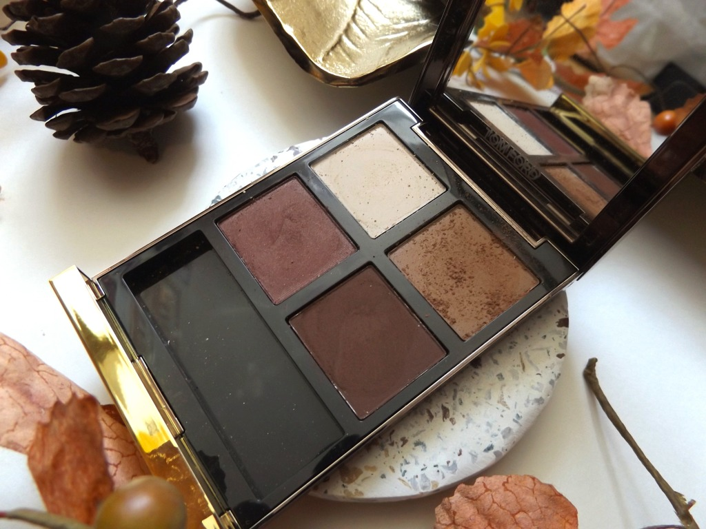 Close up of Tom Ford coco mirage palette