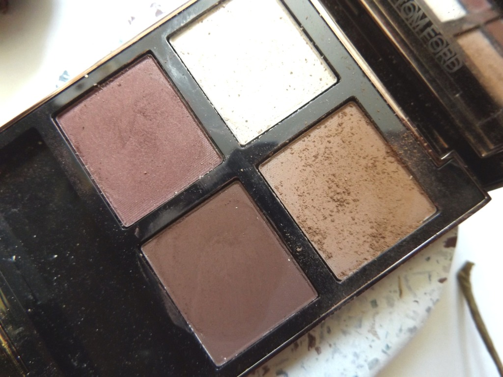 Very zoomed in shot of the tom ford quad