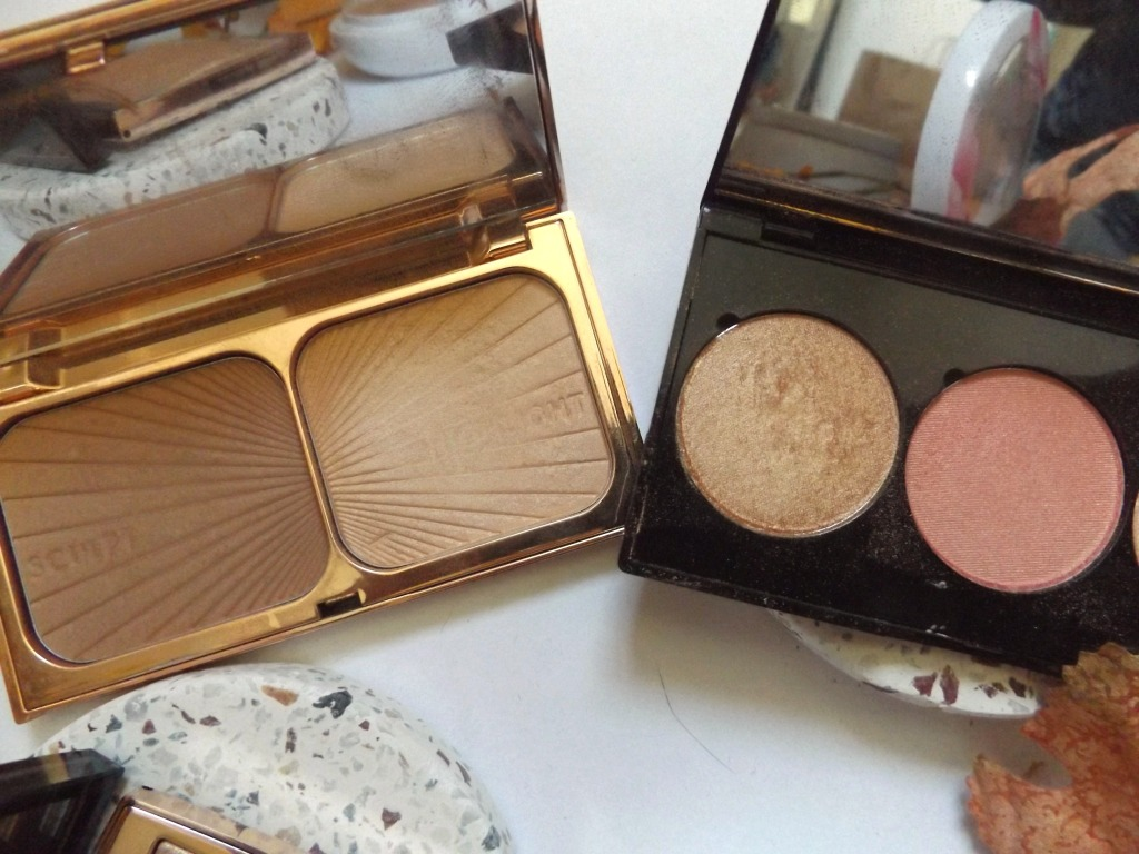 Charlotte Tilbury vs Cheekbone beauty in compacts