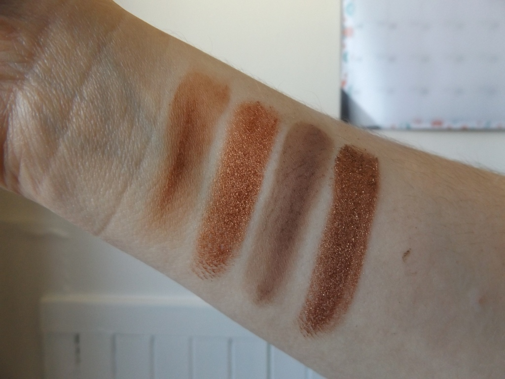 Pumpkin Pie Swatches