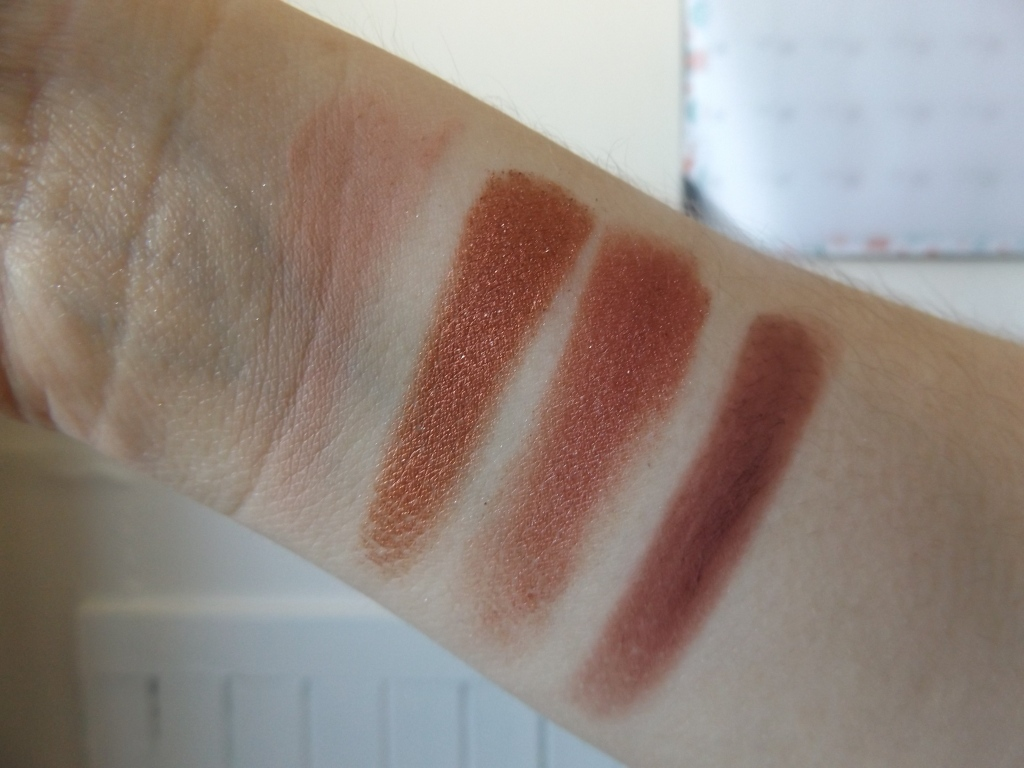 Swatches of Berry Rad